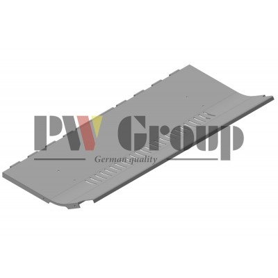 Bottom protection plate (Straw chopper body)