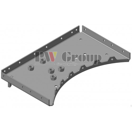 Support RH (front rotor cage)