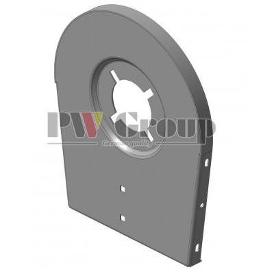Side wear plate (Clean grain elevator foot)