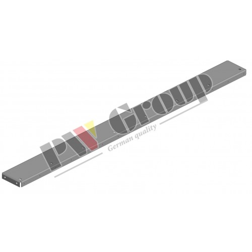 Smoothed plate, support (Step plate)