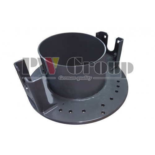 Support plate (discharge chute drive)