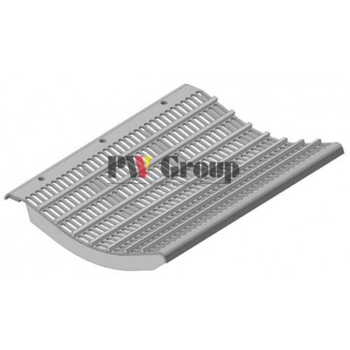 Concave segment small grain (slotted | cell 10×38 mm)