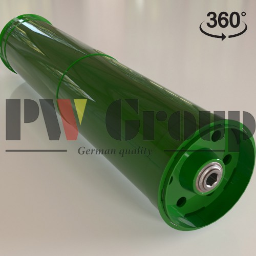 Conveyor drum (or guide roller)